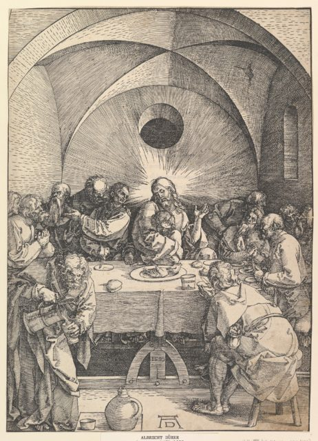 The Last Supper, from The Large Passion