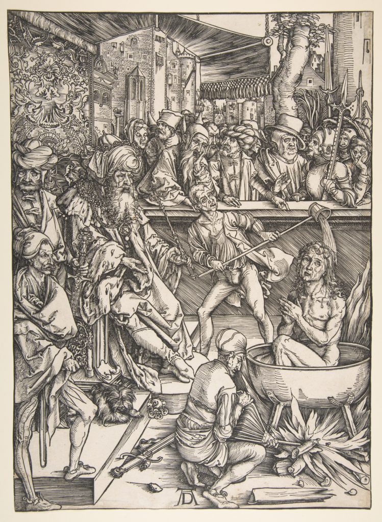 The Martyrdom of Saint John, from The Apocalypse