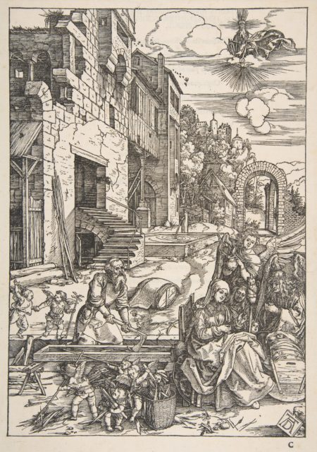 The Sojourn of The Holy Family in Egypt, from The Life of the Virgin, Latin Edition, 1511