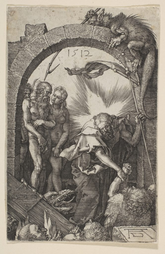 Christ in Limbo, from The Passion