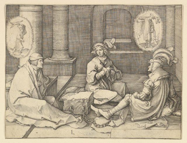Joseph Interpreting the Dreams in Prison