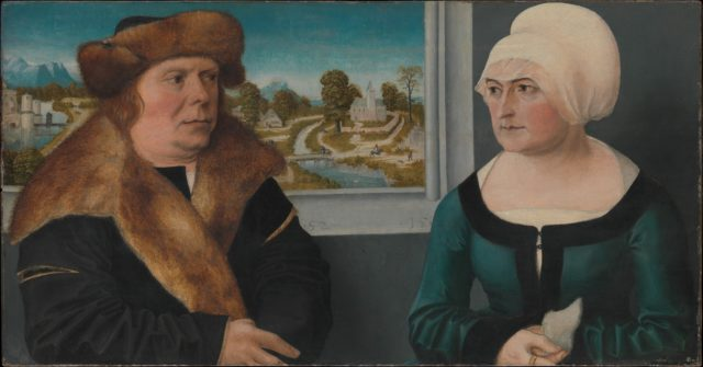 Portrait of a Man and His Wife (Lorenz Kraffter and Honesta Merz?)
