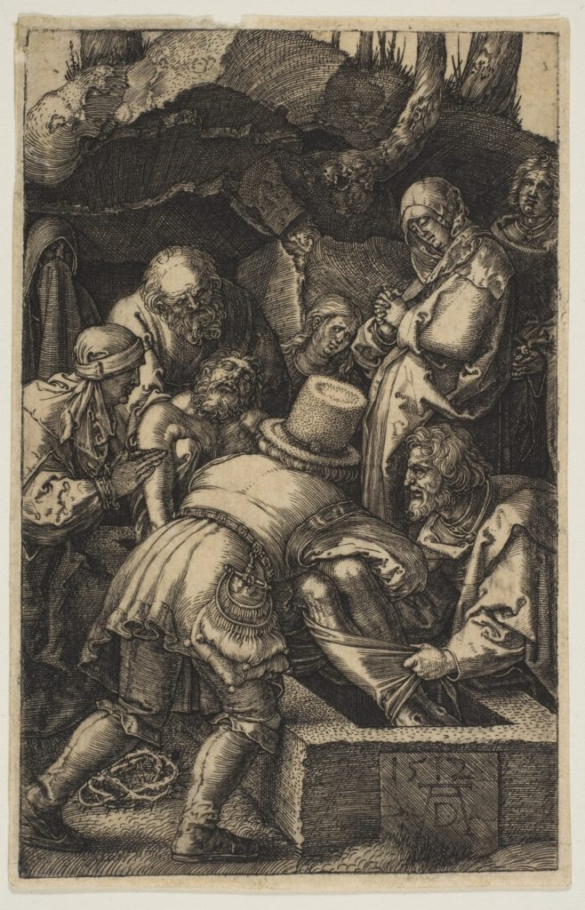 The Entombment, from The Passion