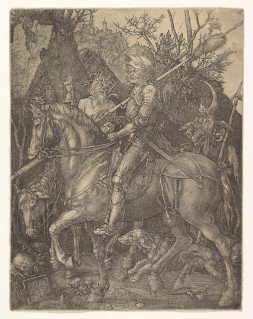 Knight, Death, and the Devil