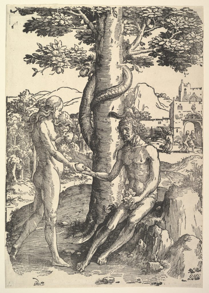 Fall of Man (Adam and  Eve)