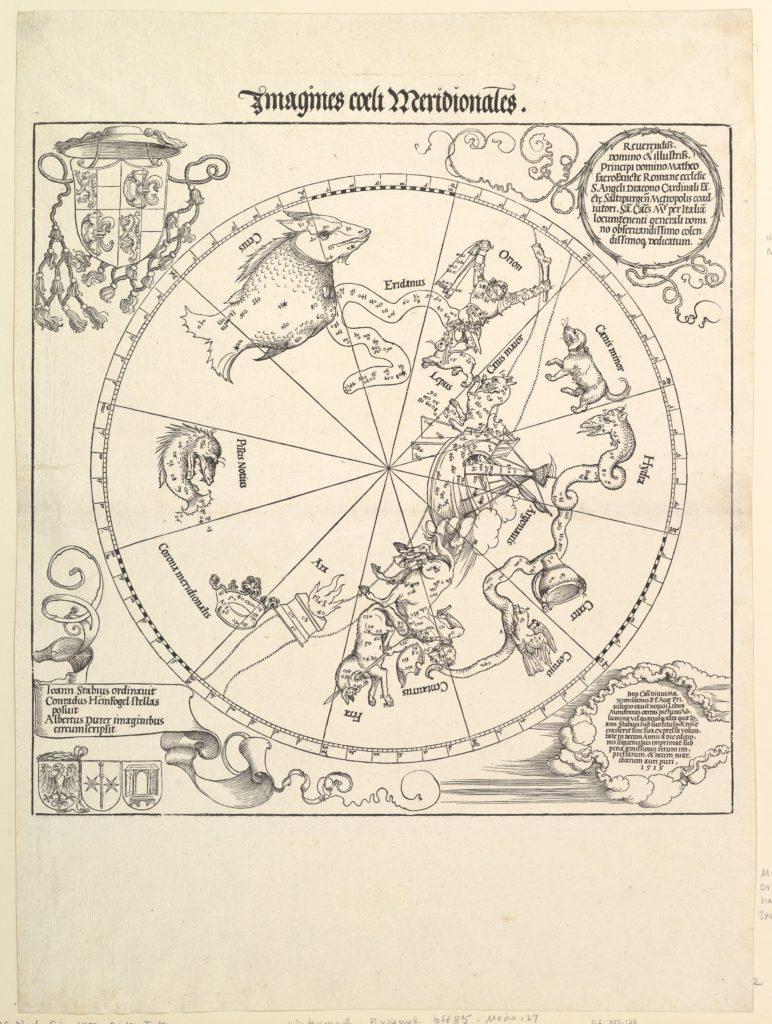 The Celestial Globe-Southern Hemisphere