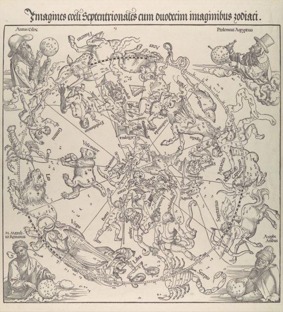 The Celestial Map- Northern Hemisphere