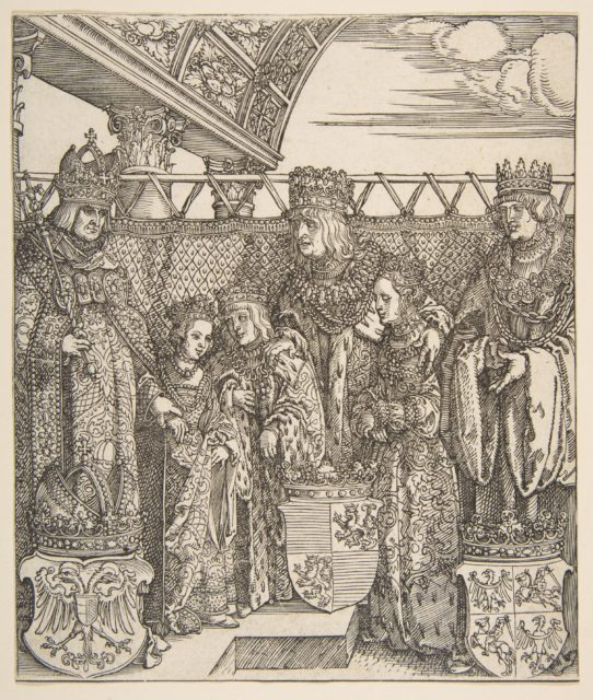 The Congress of Princes at Vienna, from the Triumphal Arch of Emperor Maximilian I