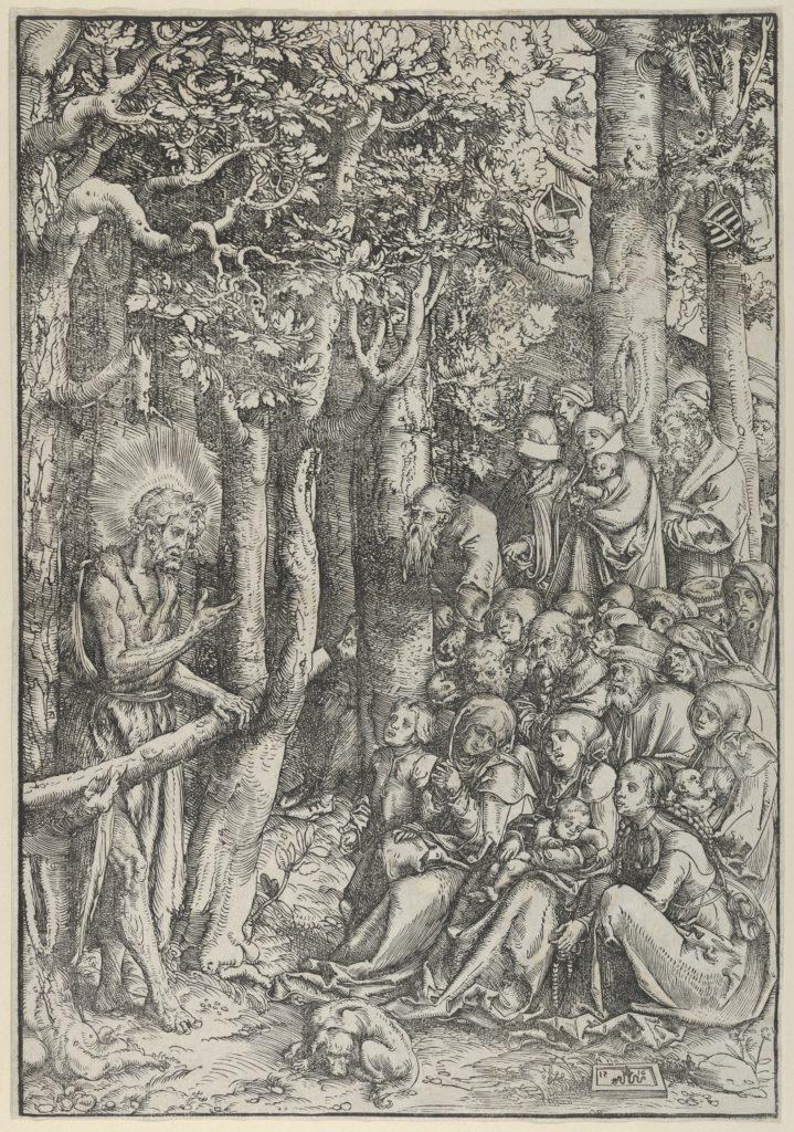 The Sermon of St.John the Baptist