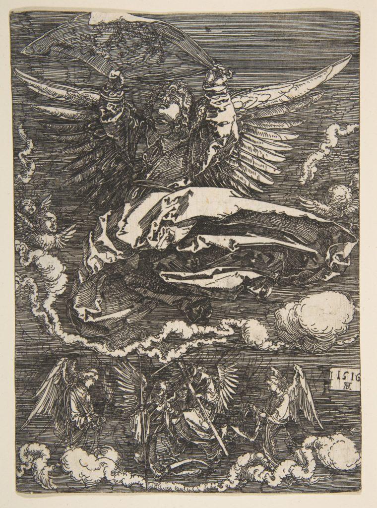 The Sudarium Held by One Angel