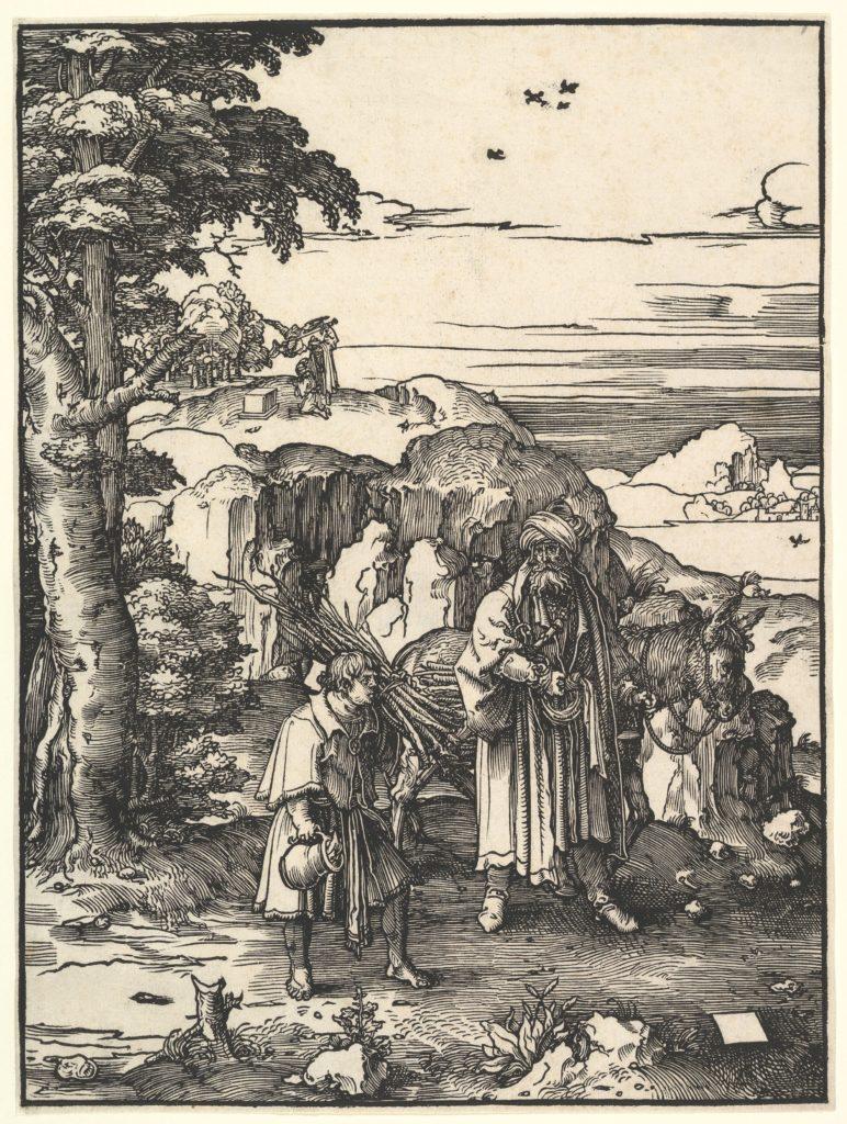 Abraham Going to Sacrifice Isaac