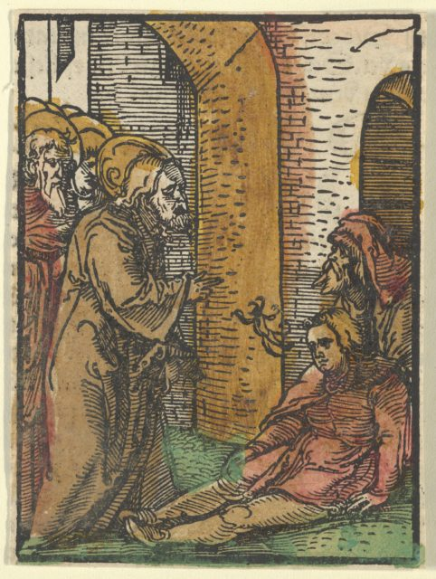 Christ Healing the Possessed, from Das Plenarium