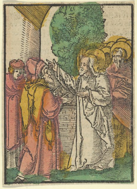 Parable of the Pharisees and the Tax-Collector, from Das Plenarium