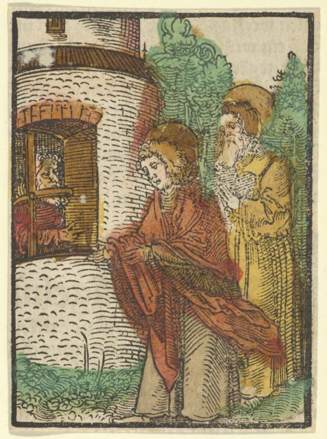 St. John in Prison, from Das Plenarium