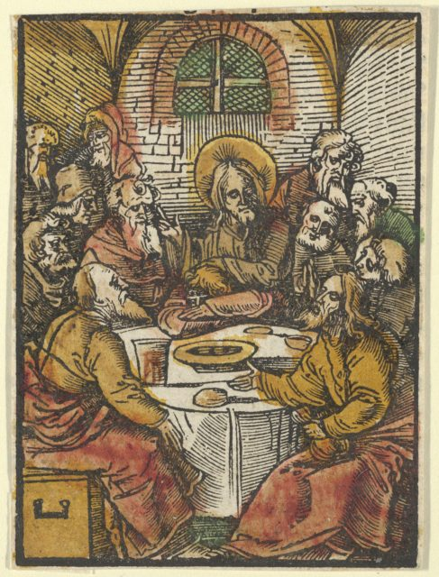 The Last Supper, from Das Plenarium