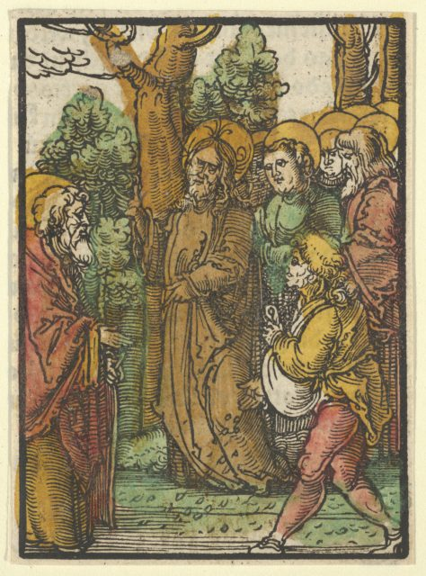 The Parable of the Sower and the Weeds, from Das Plenarium