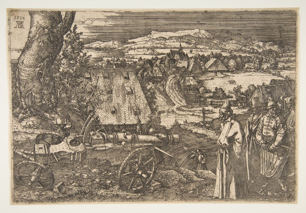 Landscape with a Cannon