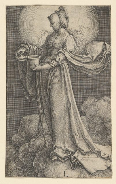 St. Mary Magdalene on the Clouds