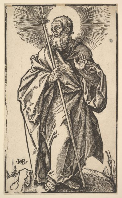 Saint Thomas from Christ and the Apostles