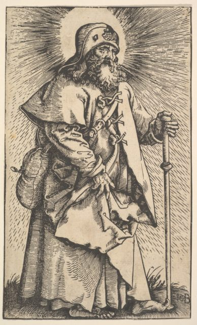 St. James the Greater from Christ and the Apostles