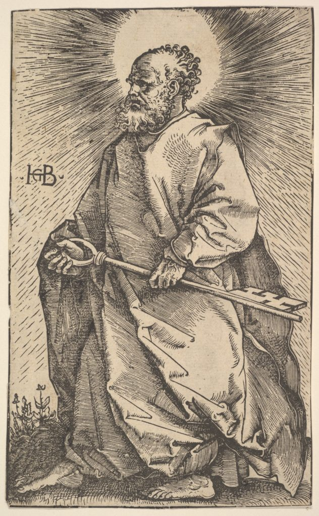 St. Peter from Christ and the Apostles