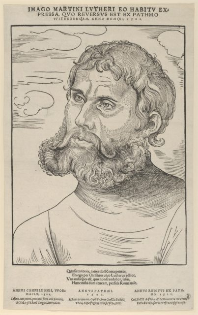 Luther as 'Junker Jorg'