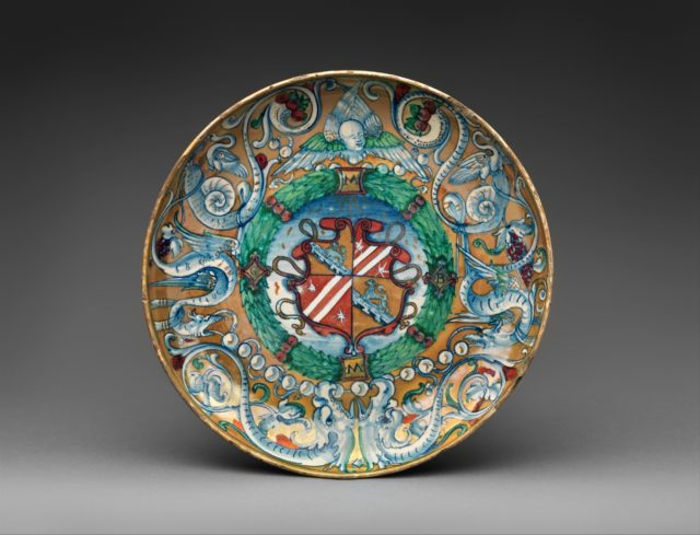 Armorial bowl