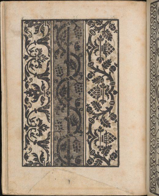 Ein new Modelbuch..., page 12 (verso)