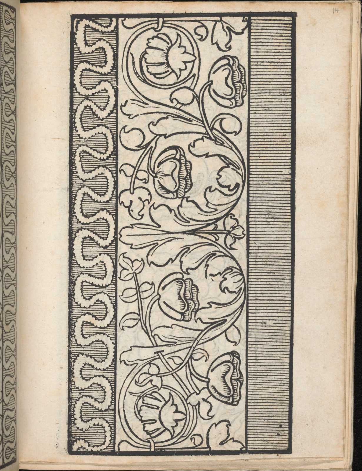 Ein new Modelbuch..., page 14 (recto)