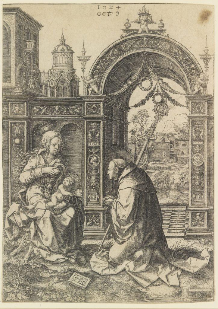 St. Bernard Adoring the Christ Child