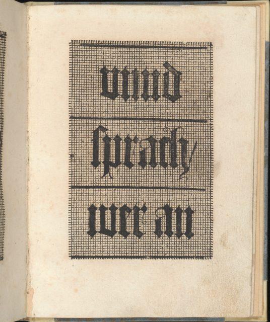 Ein ney Furmbüchlein, Page 8, recto