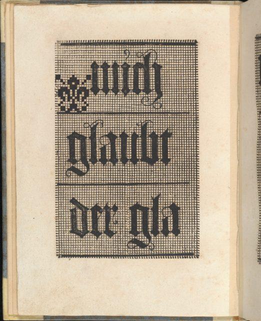 Ein ney Furmbüchlein, Page 8, verso