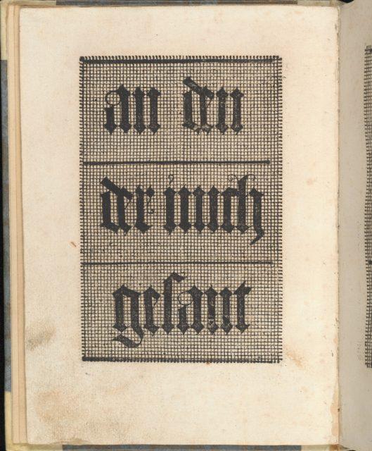 Ein ney Furmbüchlein, Page 9, verso