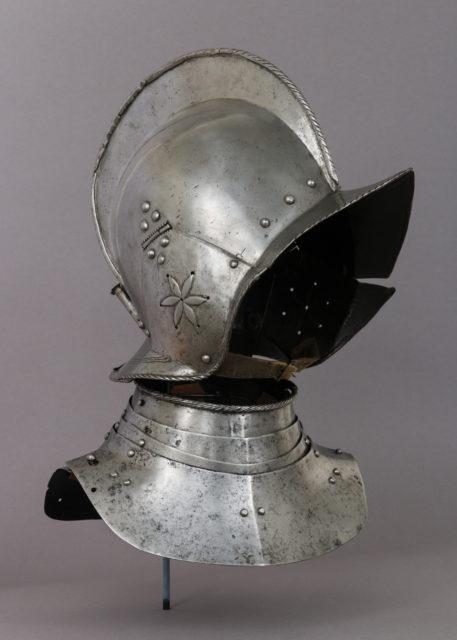 Helmet and Gorget
