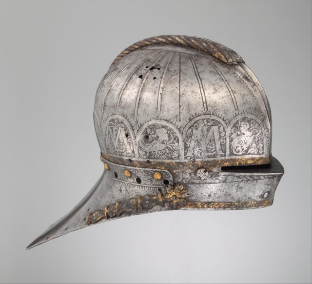 Jousting Sallet Made for Louis II (1506–1526), King of Hungary and Bohemia