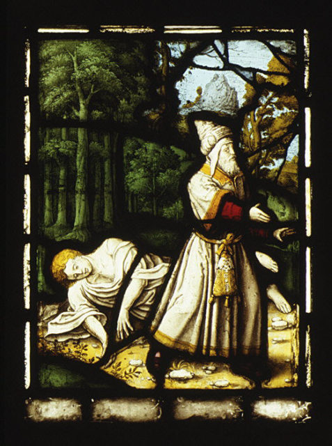 The Levite in the Parable of the Good Samaritan (one of a set of twelve scenes from The Life of Christ)