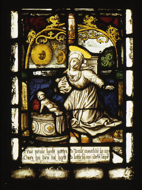 The Nativity (one of a set of twelve scenes from The Life of Christ)