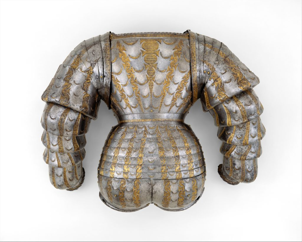 Top Lames of Vambraces (Arm Defenses) from a Costume Armor