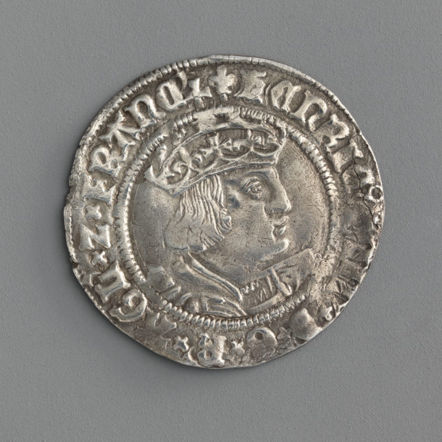 Groat of Henry VIII (second coinage)