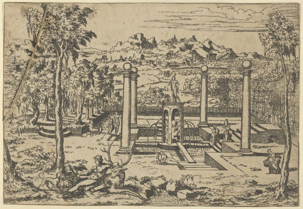 Landscape with Diana Resting