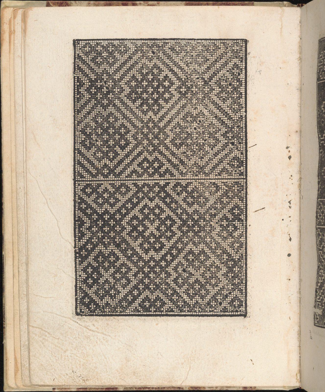 Ein new getruckt model Büchli...Page 11, verso