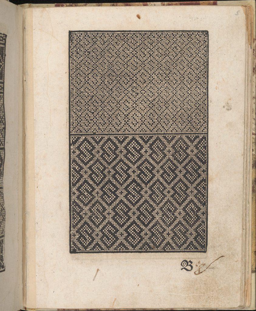 Ein new getruckt model Büchli...Page 4, verso