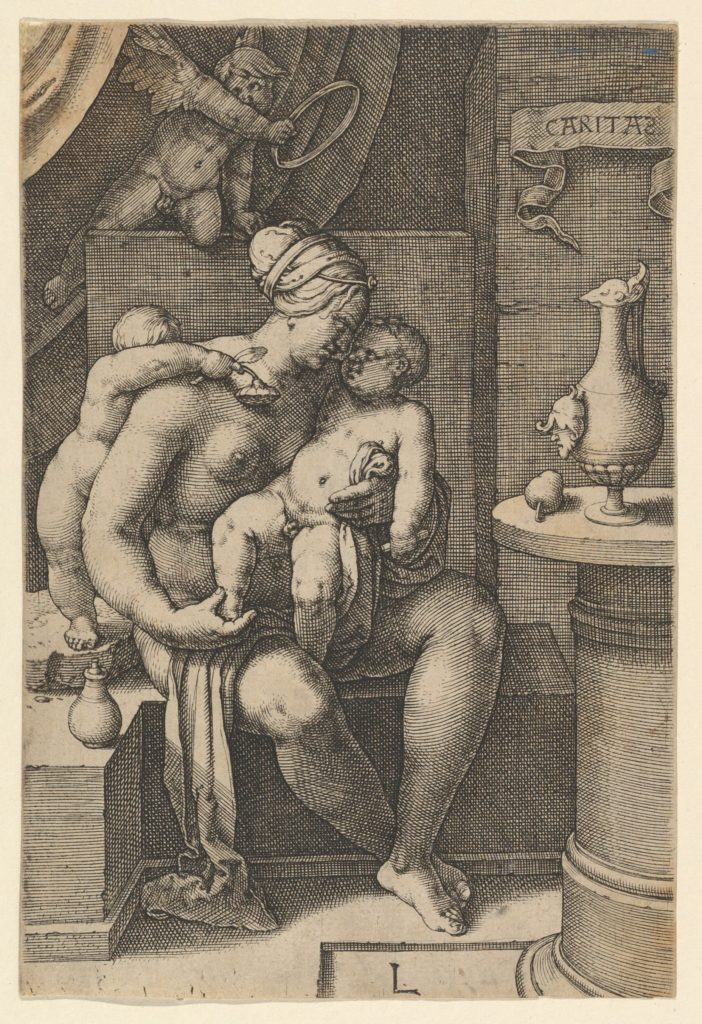 Charity, from the series The Seven Virtues