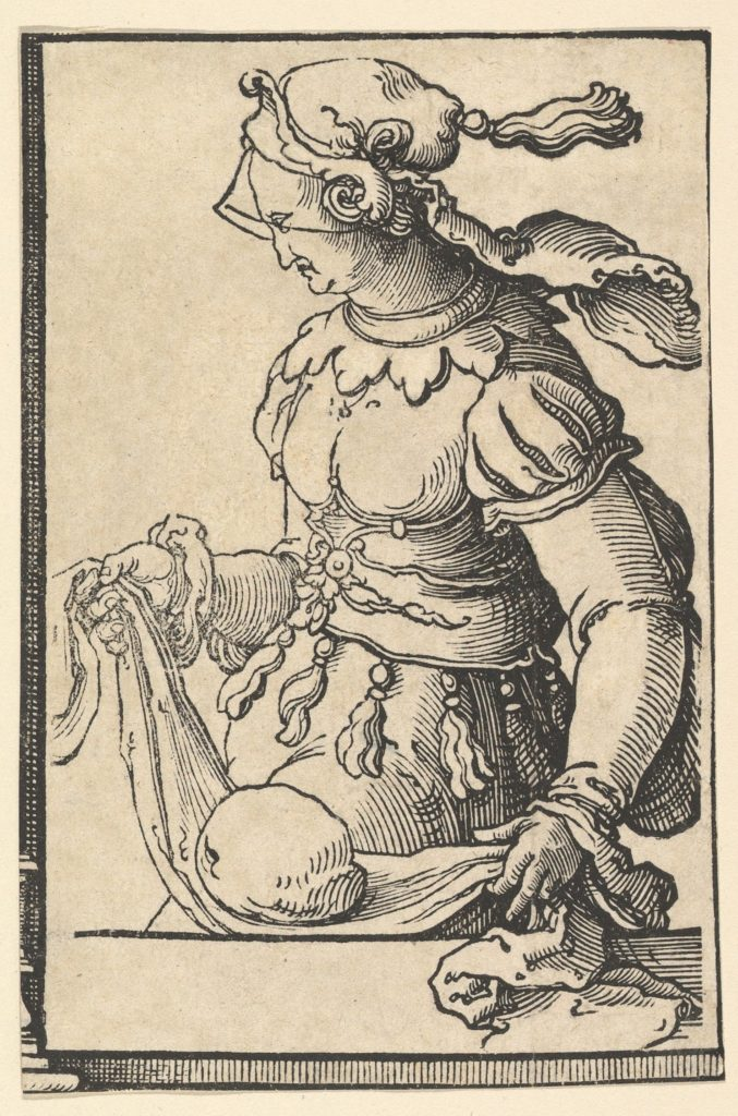 Cumean Sibyl, from the series of Sibyls