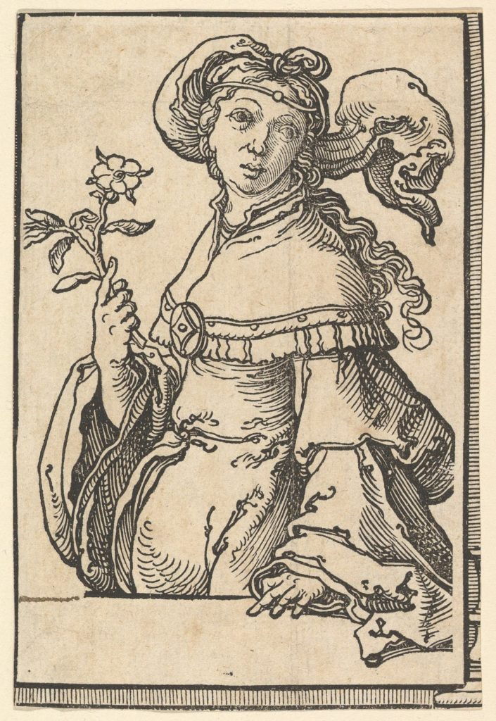 Erythrean Sibyl, from the series of Sibyls