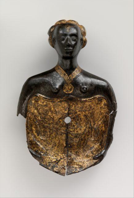 Escutcheon Plate of a Shaffron (Horse's Head Defense)