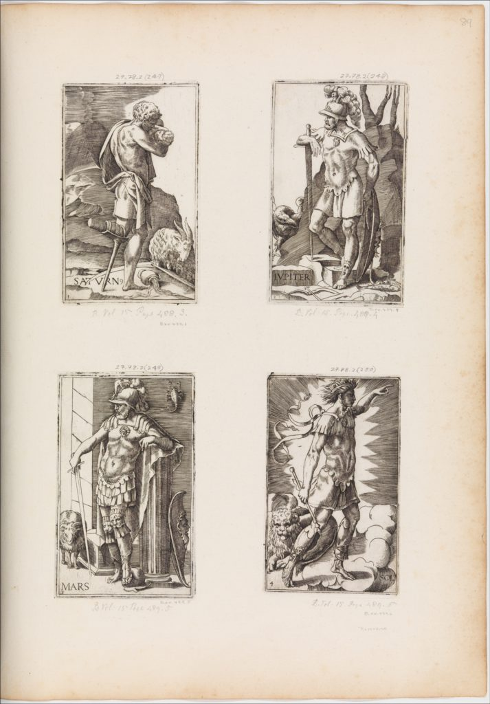Mars, from Planets, plate 3