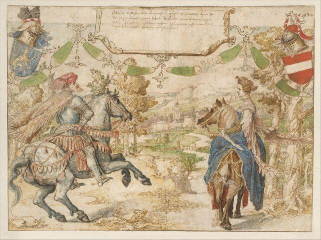 Otto, Count of Nassau and his Wife Adelheid van Vianen