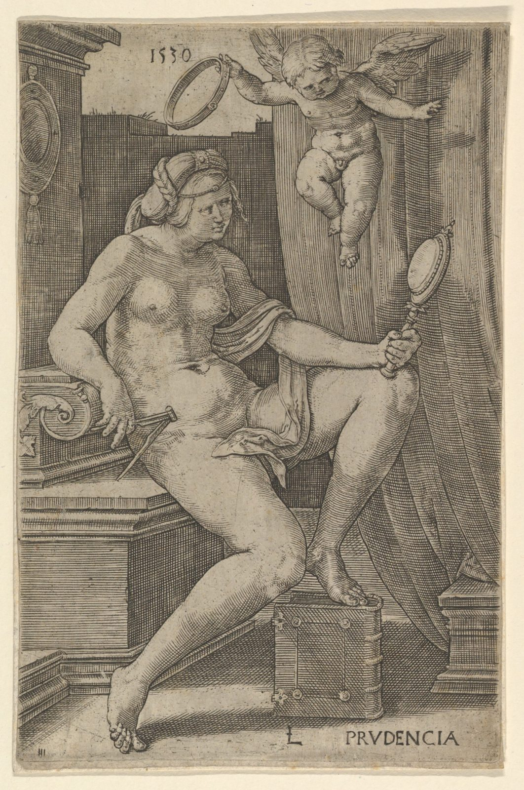 Prudence, from the series The Seven Virtues