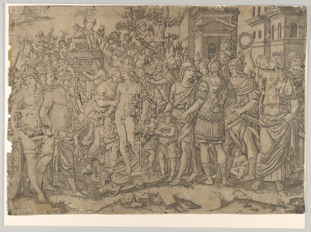 The triumph of a Roman Emperor